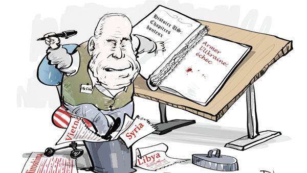 McCain: le refus d'armer Kiev est une honte pour les USA - Sputnik France