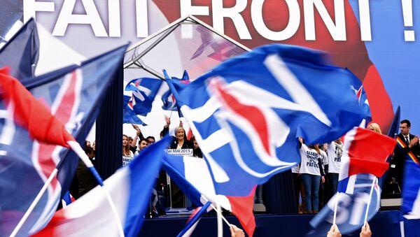 Front national à Paris - Sputnik France