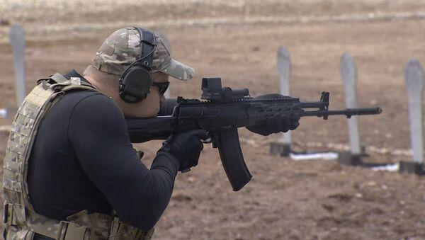 Armée-2015: Kalachnikov présente un prototype d'un nouveau pistolet - Sputnik France