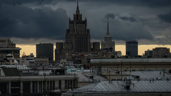 View of Russian Ministry of Foreign Affairs building - Sputnik France