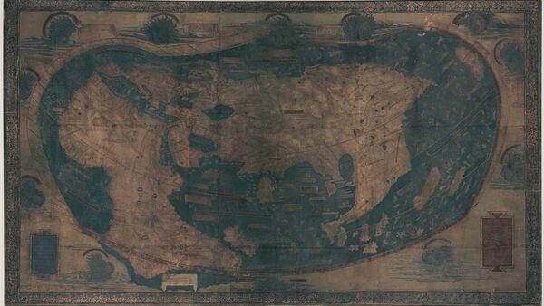 Map of the world by Henricus Martellus Germanus - Sputnik France