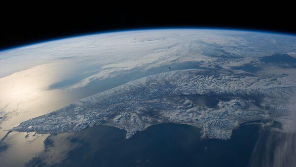 Sunglint on the Bering Sea - Sputnik France