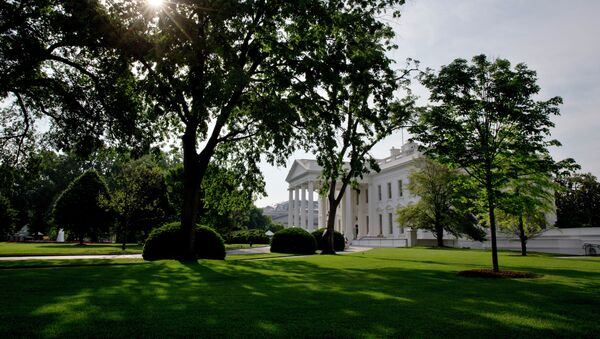 The sun rises over the White House in Washington, Saturday, May 16, 2015 - Sputnik France