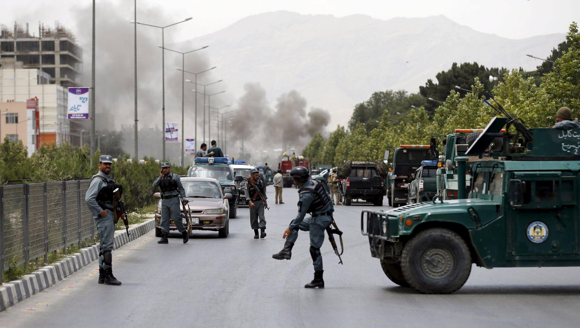 Les forces de sécurité afghanes bloquent le site d'une attaque terroriste à Kaboul - Sputnik France, 1920, 04.08.2021
