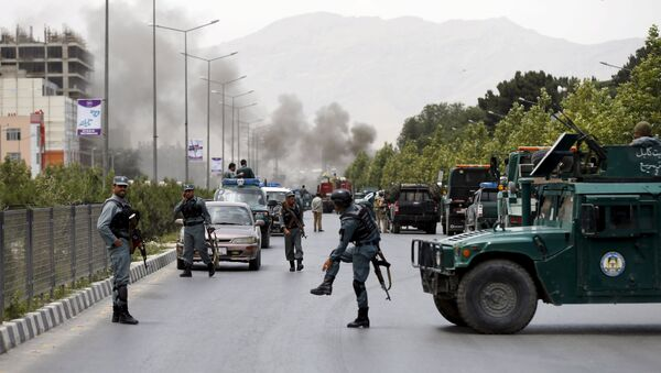Attentat contre le parlement afghan - Sputnik France