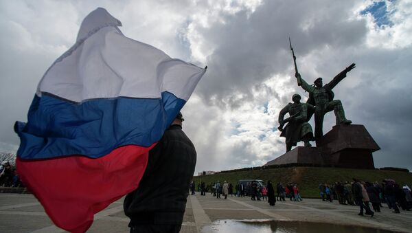 Crimean Spring anniversary in Crimea - Sputnik France
