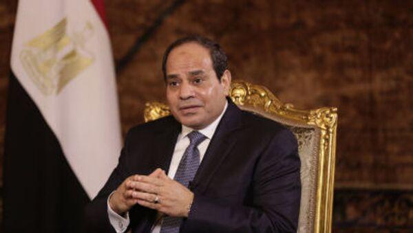 Президент Египта Абдул-Фаттах Ас-Сиси - Sputnik France