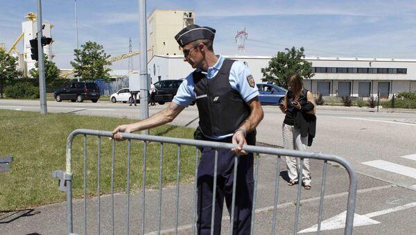 L'enquête sur l'attentat commis dans une usine en France - Sputnik France