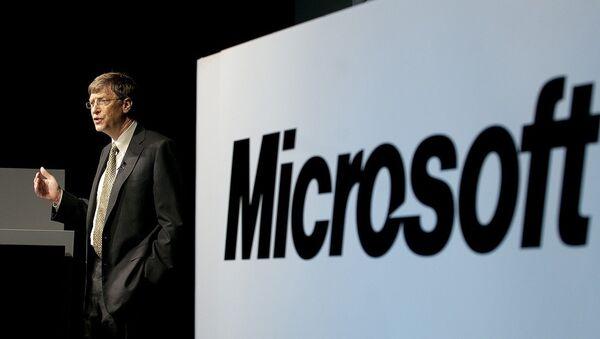 Microsoft Corporation Chairman, Bill Gates - Sputnik France