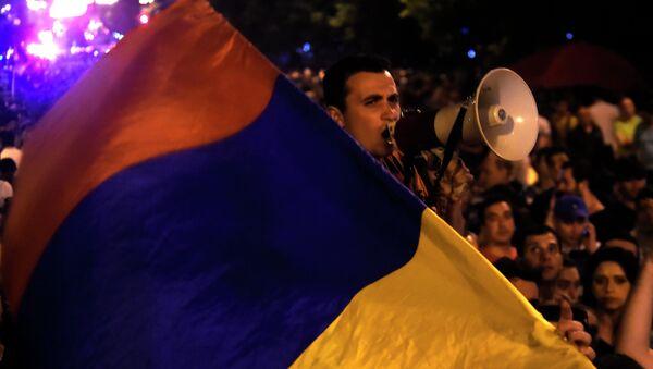 Protests in Yerevan - Sputnik France
