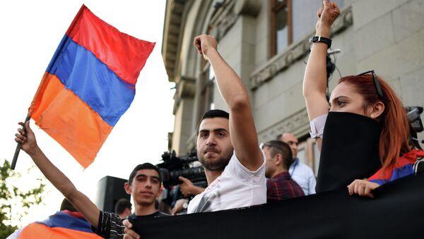 protestations à Erevan - Sputnik France