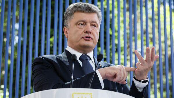 Le président ukrainien Piotr Porochenko - Sputnik France