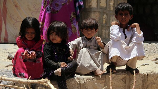 Les enfants, Yémen. - Sputnik France
