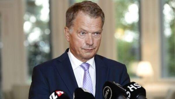 Le président finlandais Sauli Niinistö - Sputnik France