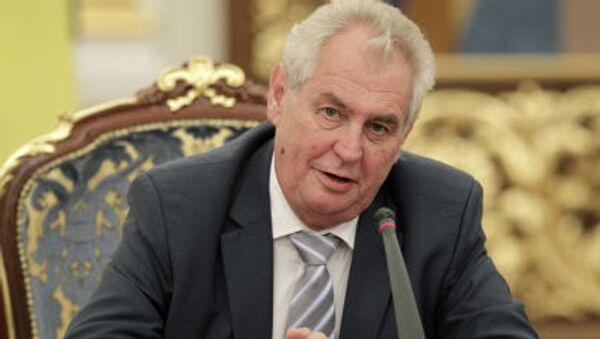 Miloš Zeman - Sputnik France