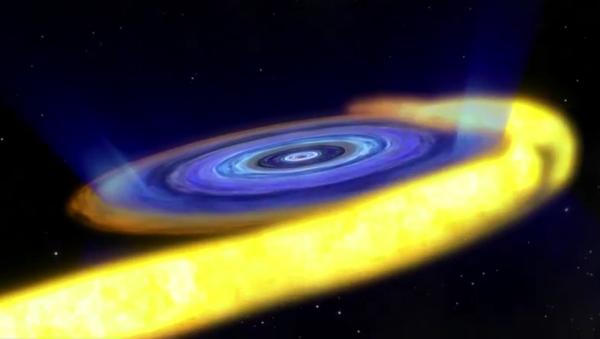 Un trou noir se manifeste dans les profondeurs de l'espace - Sputnik France