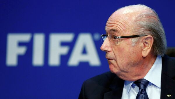 Joseph Blatter, president de la FIFA - Sputnik France