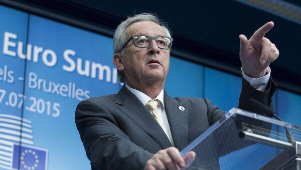 European Commission President Jean Claude Juncker - Sputnik France