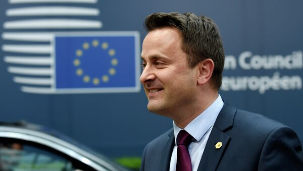 Premier ministre luxembourgeois Xavier Bettel - Sputnik France