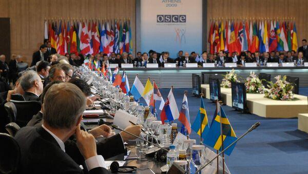 Réunion du Conseil des MAE de l'OSCE - Sputnik France