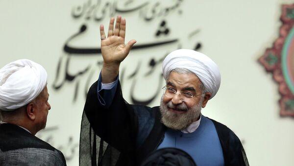 Le président iranien, Hassan Rohani - Sputnik France