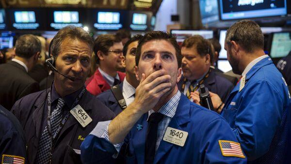 Bourse de New York, juin 2015 - Sputnik France