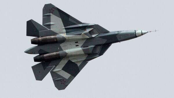 Sukhoi T-50 (PAK FA) - Sputnik France