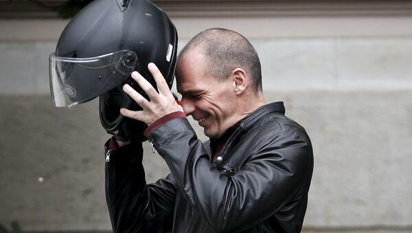 Greek Finance Minister Yanis Varoufakis - Sputnik France