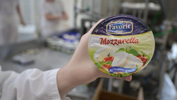 Mozzarella russe - Sputnik France
