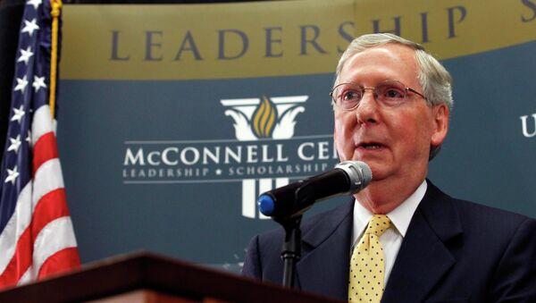 U.S. Senate minority leader Mitch McConnell - Sputnik France