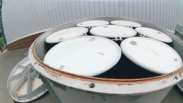 Контейнеры с радиоактивными отходами на Машиностроительном предприятии Звездочка в Северодвинске - Sputnik France