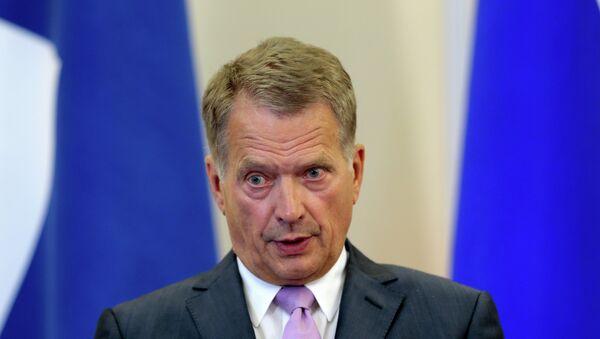 Le président finlandais Sauli Niinisto - Sputnik France