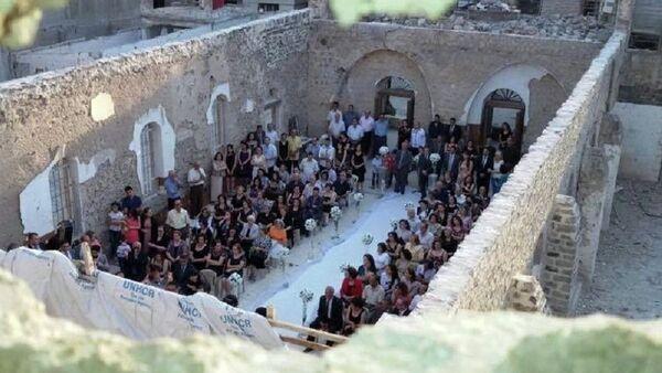 Сирийская свадьба в руинах - Sputnik France