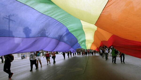 Le drapeau de la communauté LGBT - Sputnik France