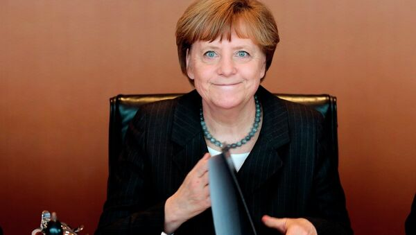 La chancelière allemande Angela Merkel - Sputnik France