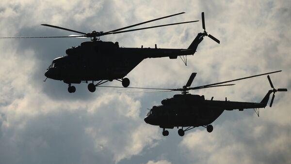 Des hélicoptères russes Mi-8 (archives) - Sputnik France