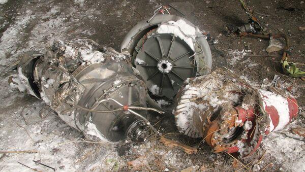 Le lieu du crash du Boeing malaisien dans la région de Donetsk - Sputnik France