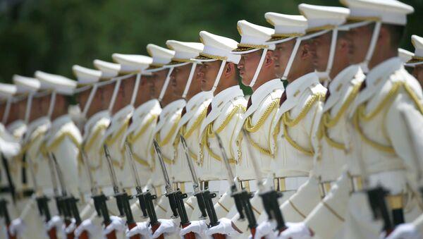Membres des forces d'autodéfense japonaises - Sputnik France