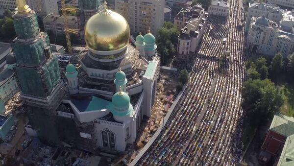 La fête musulmane de l'Aïd al-Fitr à Moscou - Sputnik France