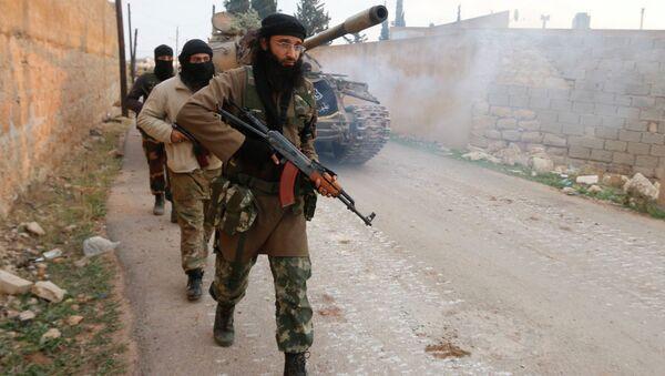 Des djihadistes en Syrie - Sputnik France