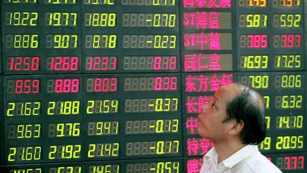 une bourse chinoise - Sputnik France