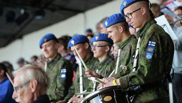 Militaires finlandais - Sputnik France