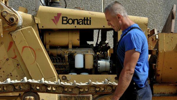 Un technicien de la société Bonatti. Image d'illustration - Sputnik France