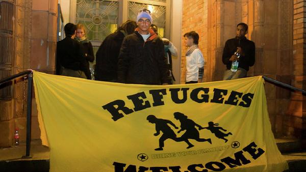 Réfugiés à Berlin, 2014 - Sputnik France