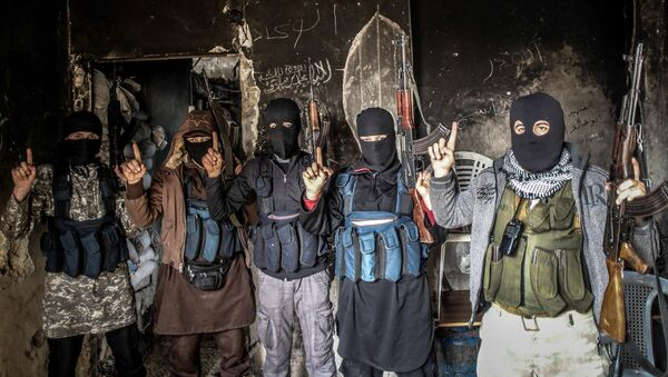 Membres d'Al-Qaïda - Sputnik France