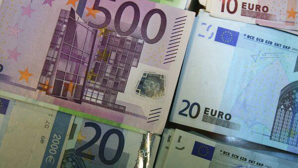 Купюры евро - Sputnik France