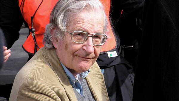 Noam Chomsky - Sputnik France
