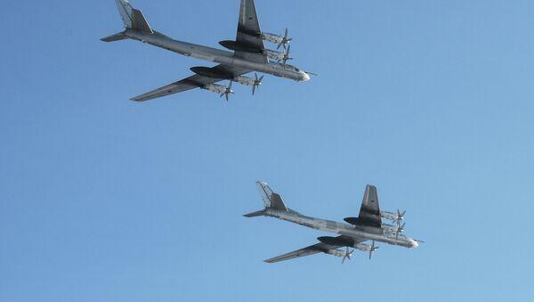 Des bombardiers stratégiques russes Tu-95 - Sputnik France