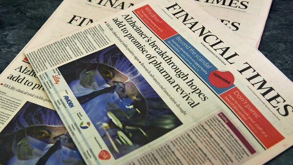 Financial Times - Sputnik France