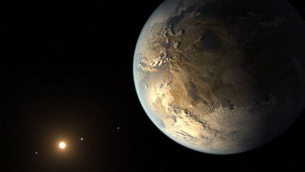 Une exoplanète - Sputnik France